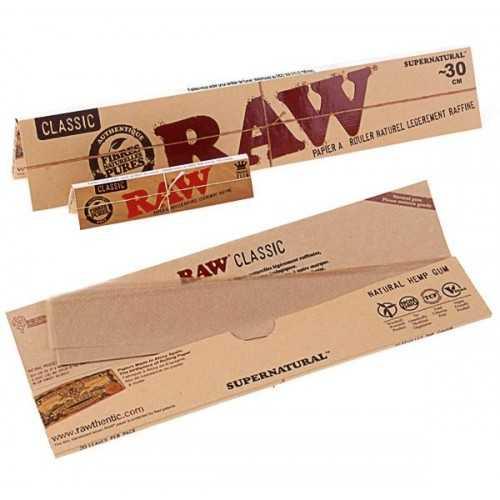 Feuille Raw Natural de 30cm