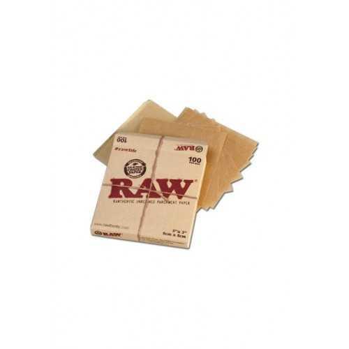 Raw Parchment (papier sulfurisé) 100 pièces