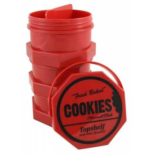 Cookies Jar Red