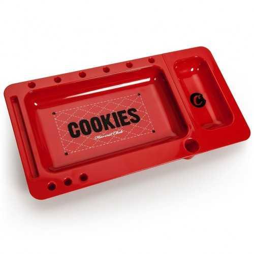 Plateau à rouler Cookies rouge