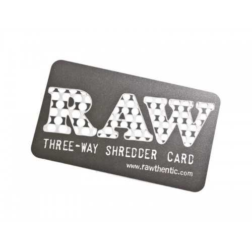 Grinder Card Super Shredder RAW