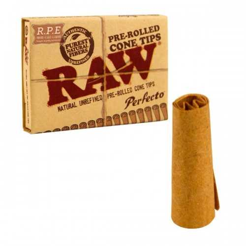 Raw Perfeco Pré-Roulé Cone Filtre