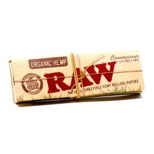 Raw Slim Organic Connoisseur  Small 11/4 + tips