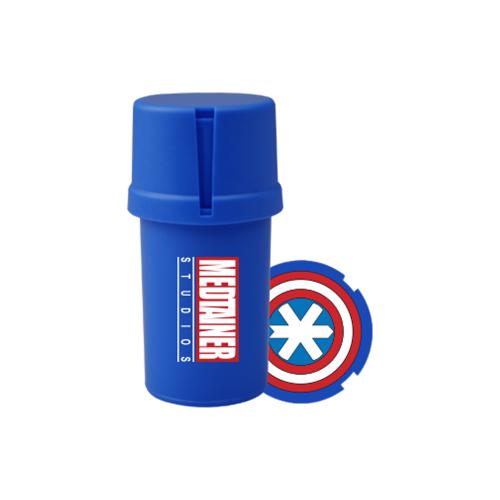 Medtainer Boite + Grinder Captain America