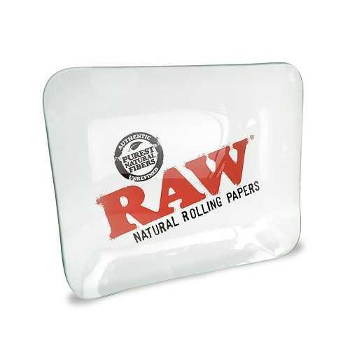 Plateau à rouler Raw en verre