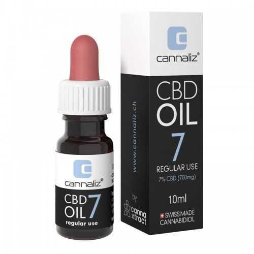 Cannaliz CBD Huile 7% - 10ml