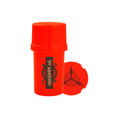 """Medtainer Boite + Grinder  édition limitée Game Of Thrones """"Spark Wolf"""""""