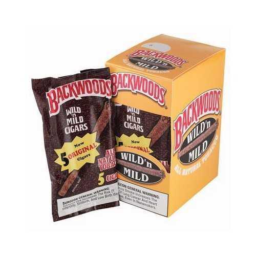 Blunts Backwoods Original (5 pièces)