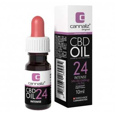 Huile de CBD Cannaliz 24%  10ml