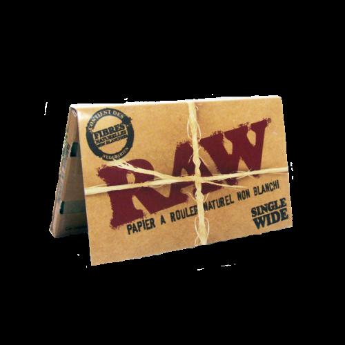 Raw Single Wide 1/2