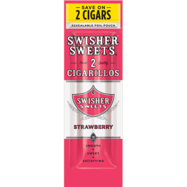 Blunt Swisher Sweets Cigarillos Strawberry