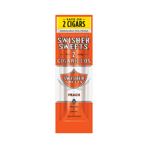 Blunt Swisher Sweets Cigarillos Peach