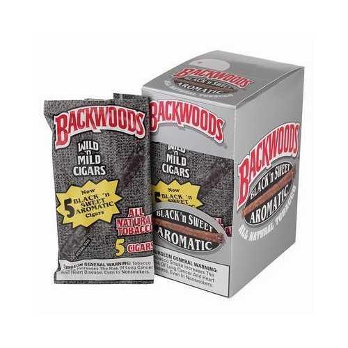 Blunts Backwoods Black Sweet Aromatic (5 pièces)