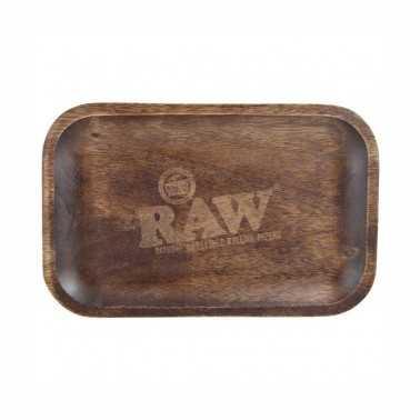 Plateau à rouler Raw en bois Small