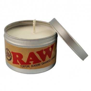 Bougie aux terpènes Raw
