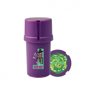 "Medtainer Boite + Grinder  édition limitée Rick & Morty ""Scary Terry"""