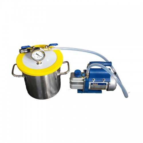 Kit Dessiccateur 1,6 Gallon + Pompe à vide 2,5 CFM