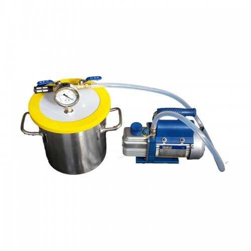 Kit Dessiccateur 5,5 Gallons + Pompe à vide 2,5 CFM
