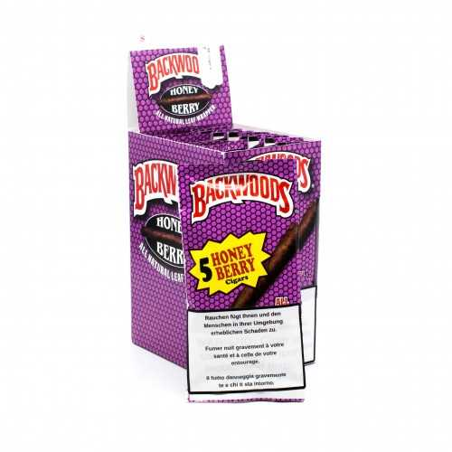 Blunts Backwoods Honey Berry (5 pièces)