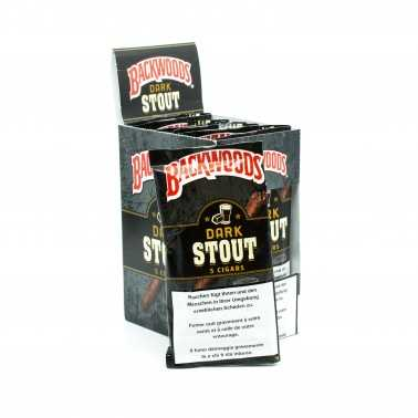 Blunts Backwoods Dark Stout (5 pièces)