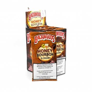Blunts Backwoods Honey Bourbon (5 pièces)