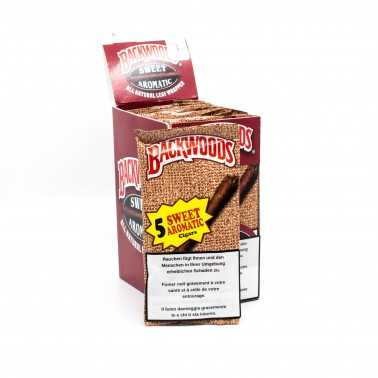 Blunts Backwoods Sweet Aromatic (5 pièces)