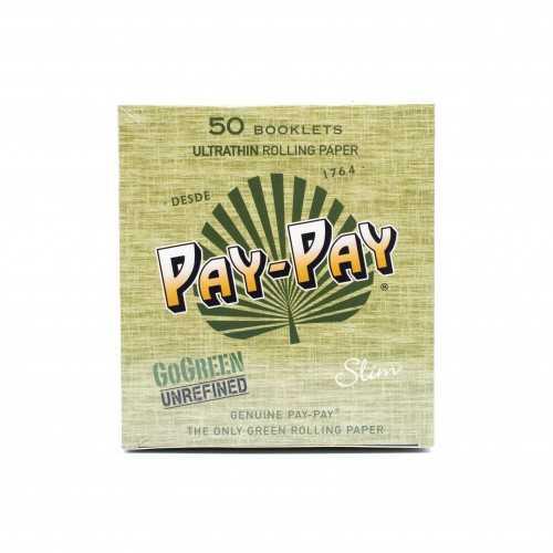 Carton de feuille à rouler PAY PAY GO Green King Size Slim