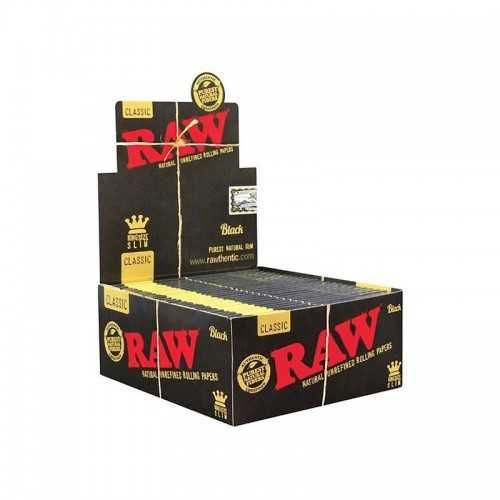 Carton Raw Black King Size Slim