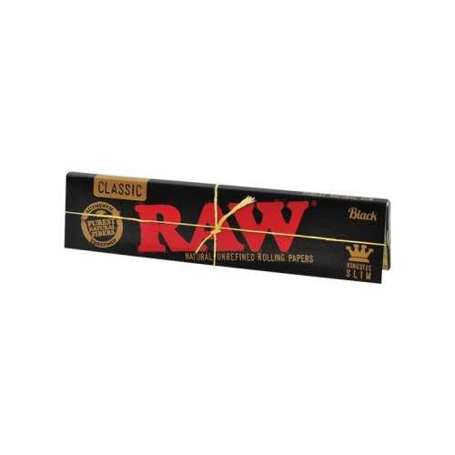 Feuille Raw Black King Size Slim