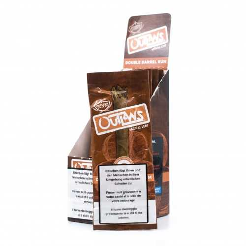 Blunt Swisher Sweets Outlaws Double Barrel Rum