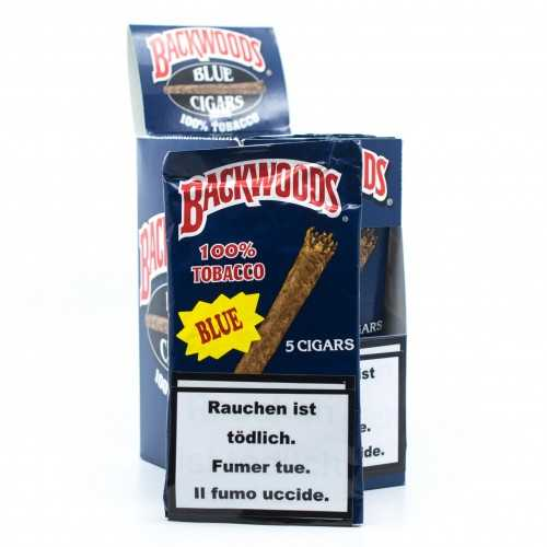 Blunts Backwoods Blue (5 pièces)