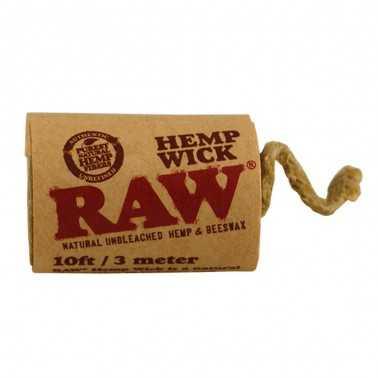 Raw Hemp Wick 3m