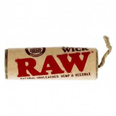 Raw Hemp Wick 6m