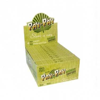 Carton de feuille Pay Pay Go Green KS + Tips (50 feuilles)