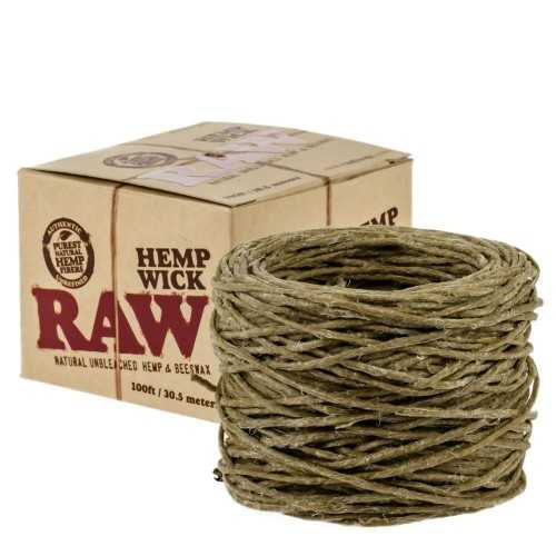 Raw Hemp Wick 30,5m