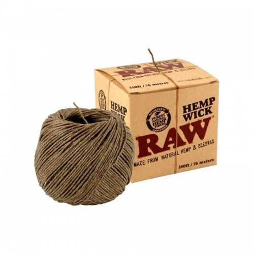 Raw Hemp Wick 76m