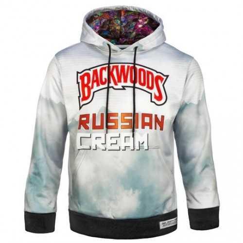 Hoodie BackWoods White Russian