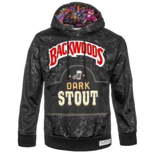 Hoodie BackWoods Dark Stout