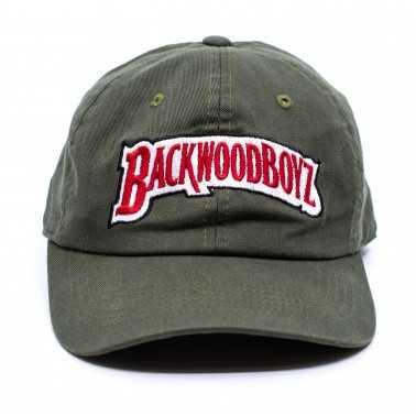 Dad Cap Olive BackWoodBoyz