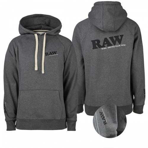 Hoodie RAW Grey