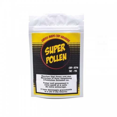 """Extraction à sec """"Super Pollen"""" LBV 50% de CBD"""