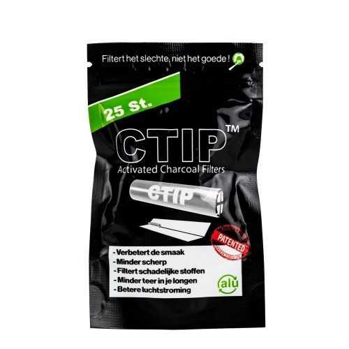 Filtres conique CTIP Charbon actif (25 pièces)