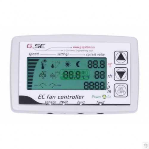 EC LCD controller pour 2fans