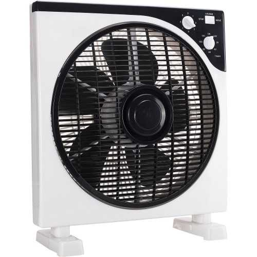 Ventilateur Box Fan 30cm tournant 40W