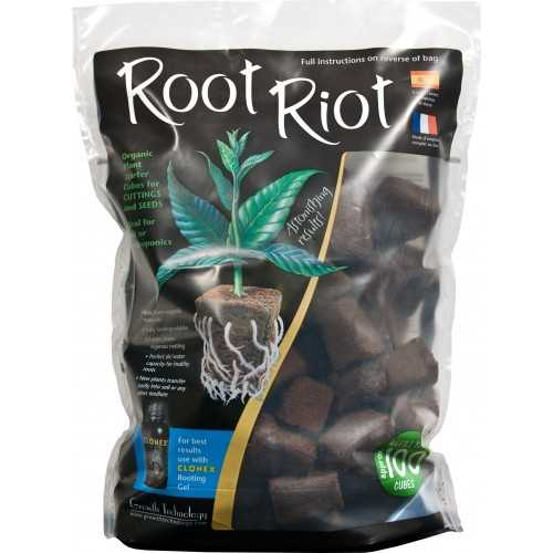 Root Riot cube 100X