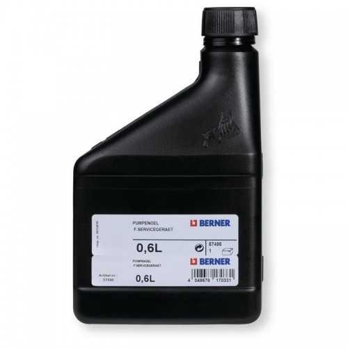 Premium High Vacum Pump Oil 600ml