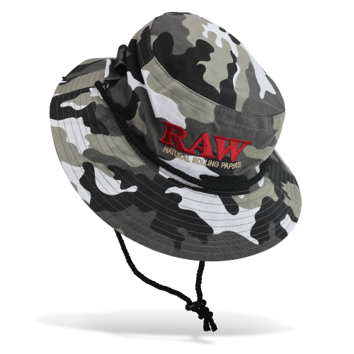 Raw Smokerman's Hat Camo