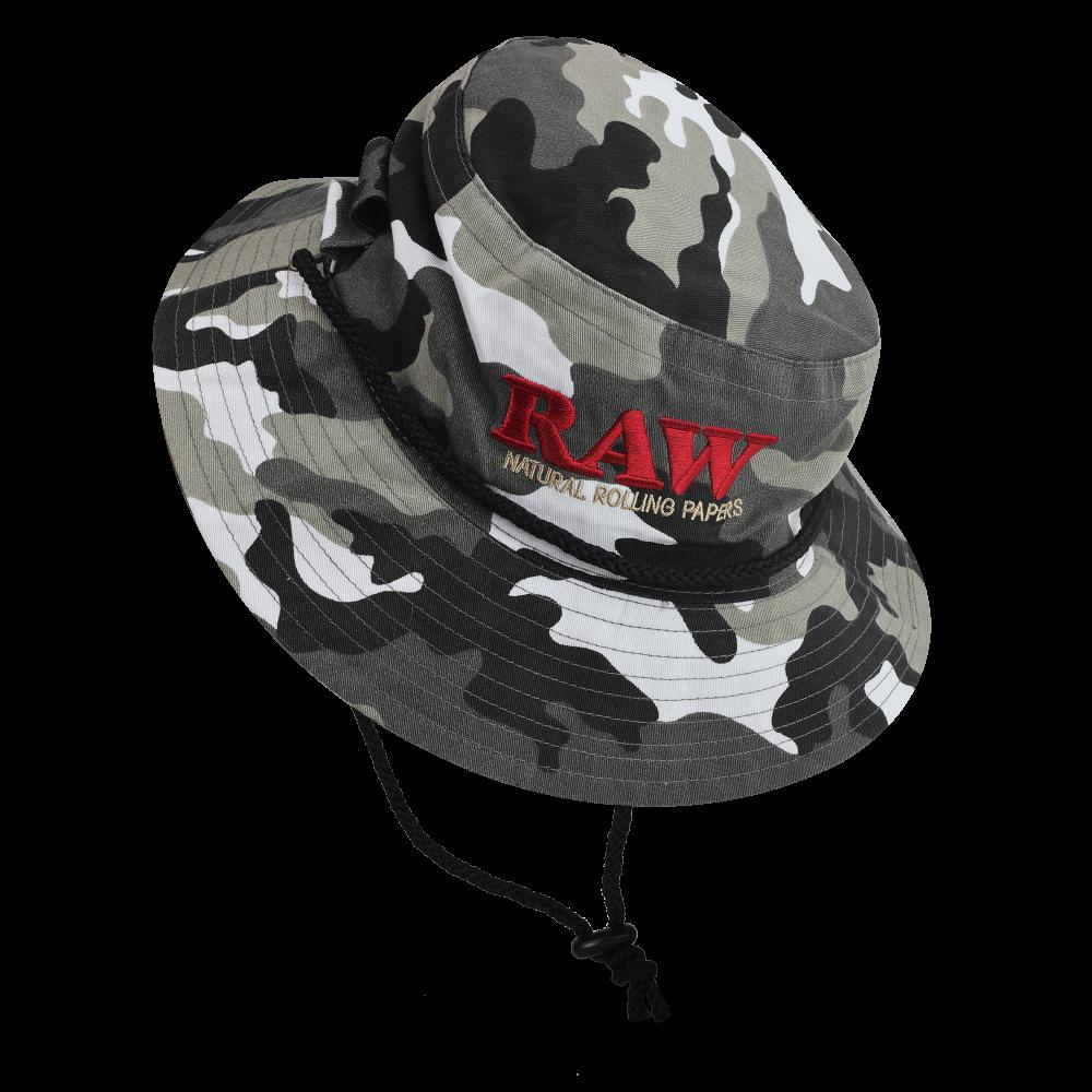 Raw Smokerman's Hat Camo