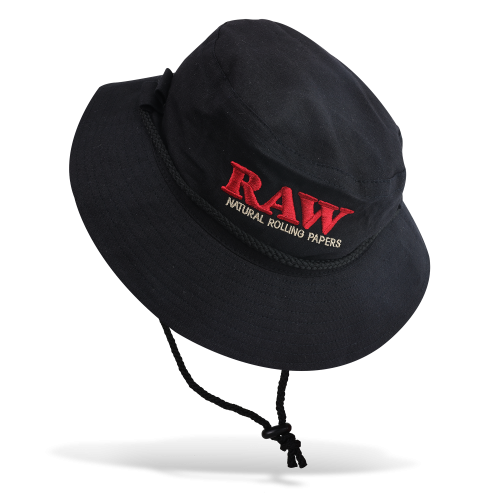 Raw Smokerman's Hat Black