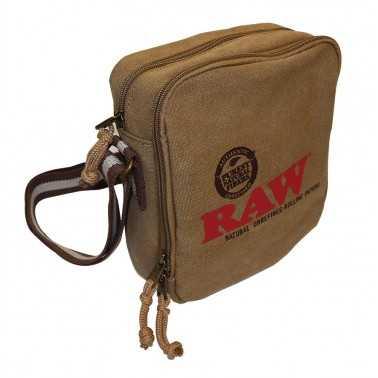 RAW Shoulder Bag Brown